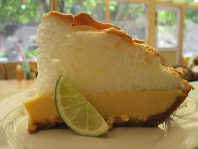 Florida Food Key Lime Meringue Pie