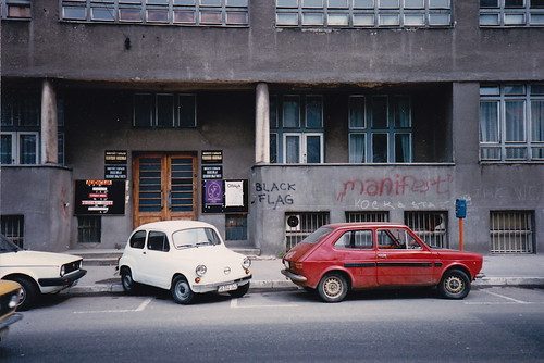 little cars and graffiti in 1987