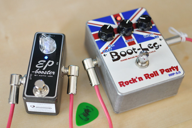 Photo:Xotic EP-Booster (and Boot-leg RRP 2.0) By yoppy