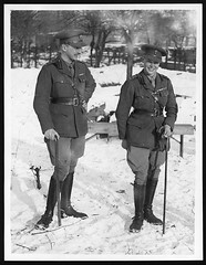 Prince of Wales with a fellow officer