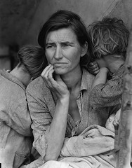 The Migrant Mother, by Dorothea Lange, 1936
