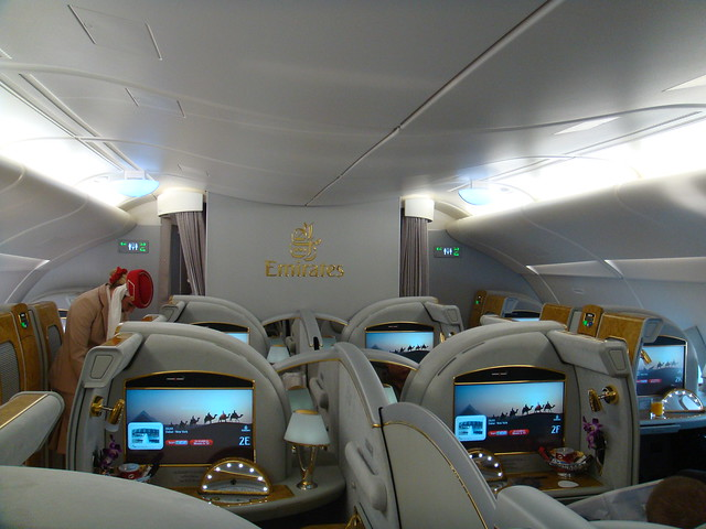 emirates airbus a380 interior flickr photo sharing