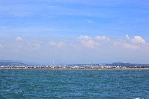 5n14海上看大甲镇-大安乡