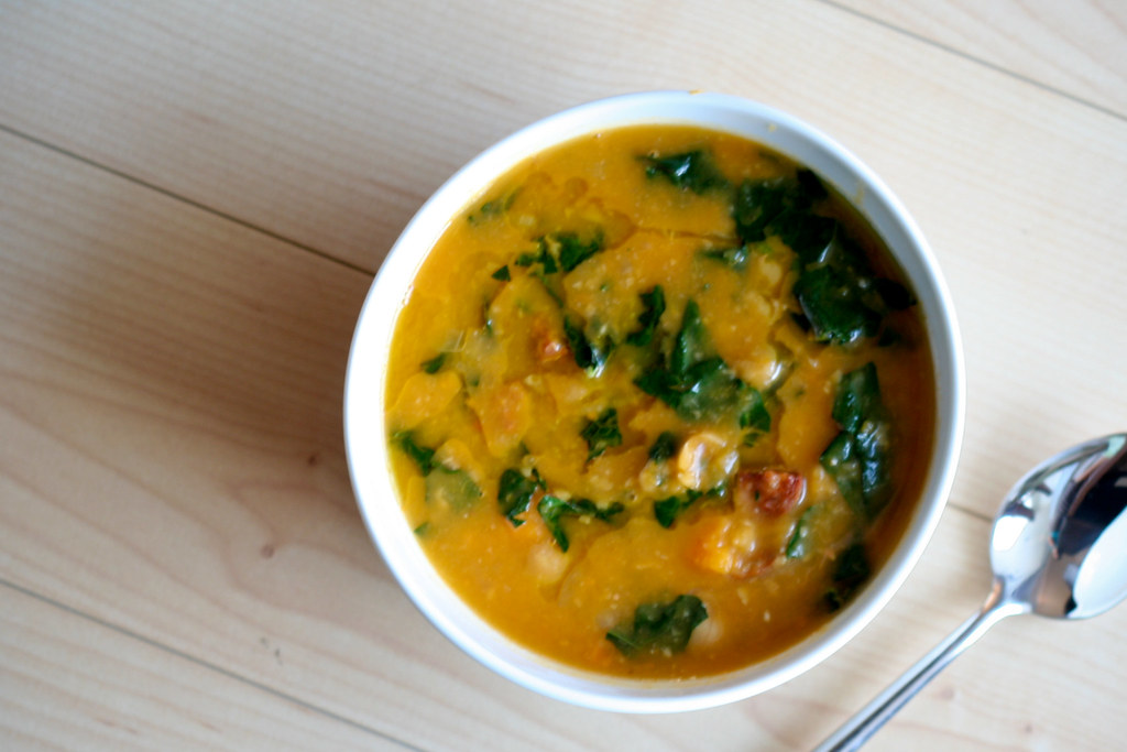 Chorizo, Chickpea & Sweet Potato Soup | Bitchin Camero