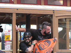 Sergio Romo and Brian Wilson