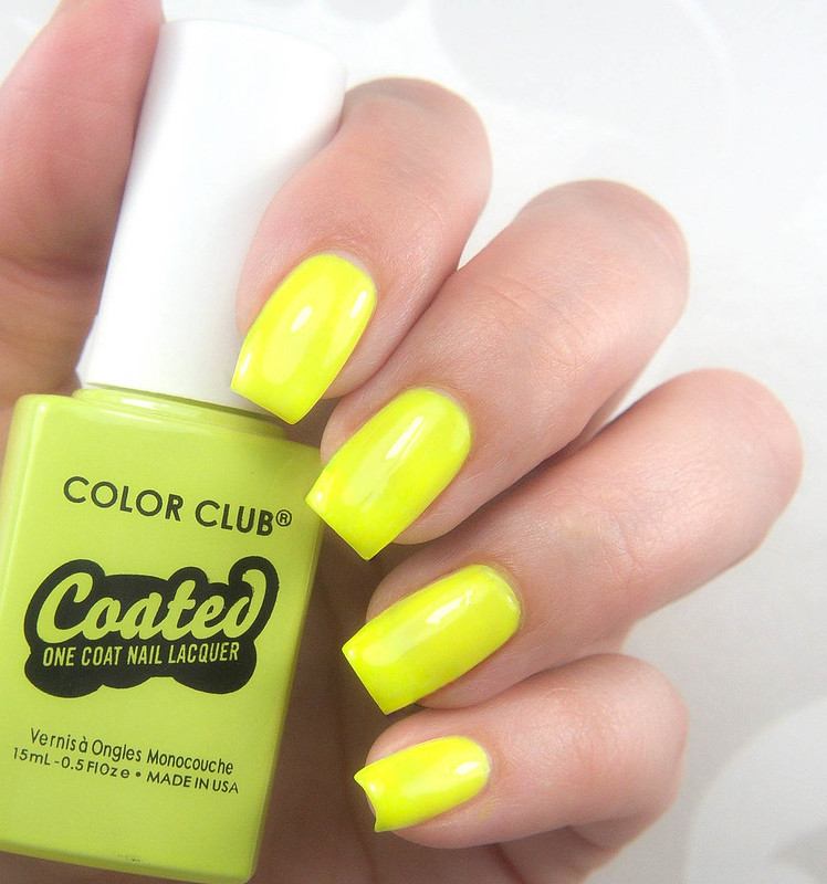 Color Club Yellin` Yellow