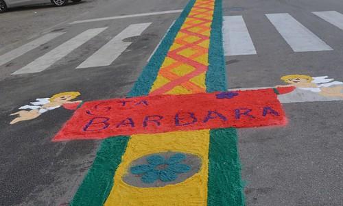 Festas em Honra Srª Auxiliadora, Santa Bárbara, São Vicente