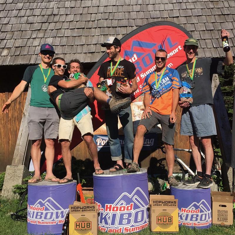Six Hours of Mt Hood 2017 - Podiums