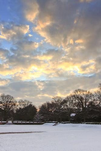 winter snow college sunrise virginia mary william wm williamsburg williamandmary wandm