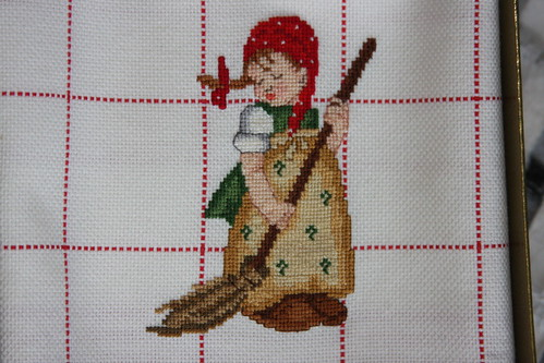 Cross stitch hummel 18ct aida