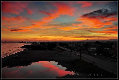 sea clouds reflections waterfront stillwater larnaka theunforgettablepictures nikond300 cypruslandscape cloudslightningstorms dedicationfromcyprus cyprusseascape varnavasthearchitect