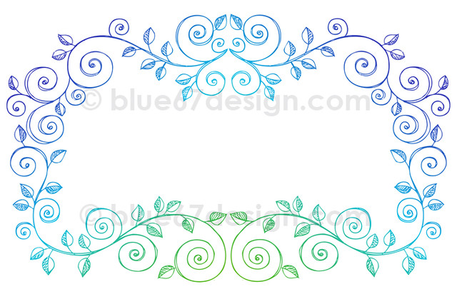 Hand-Drawn Sketchy Notebook Doodle Vines Border Vector Ill ...