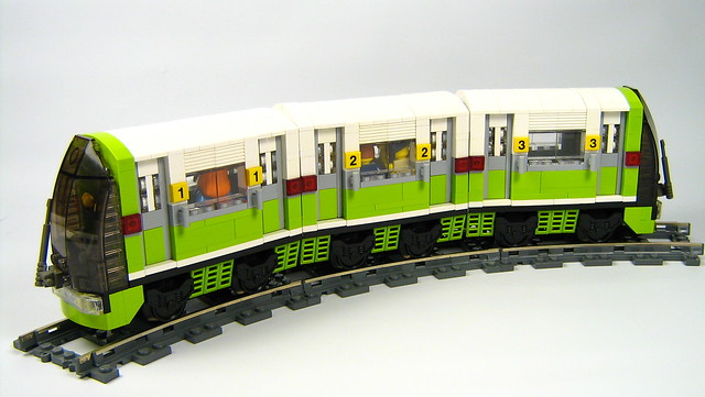 finished chibi subway train