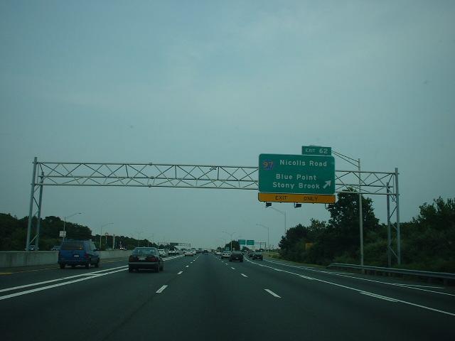Long Island Expressway Construction Queens