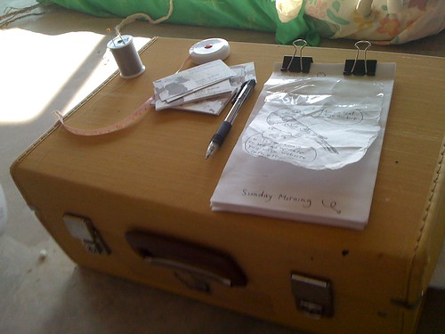 signature suitcase