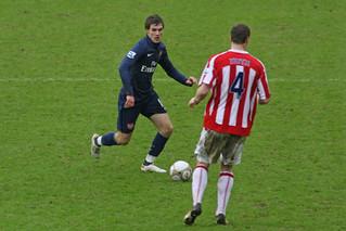 Stoke City FC V Arsenal 65
