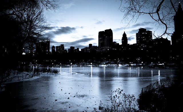 Central Park vista (moonlight)