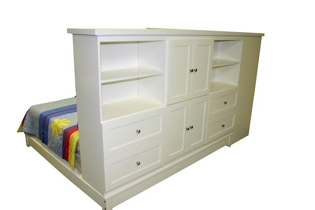 Murphy Beds Little Rock : Platform white back quot baseball beds childrens