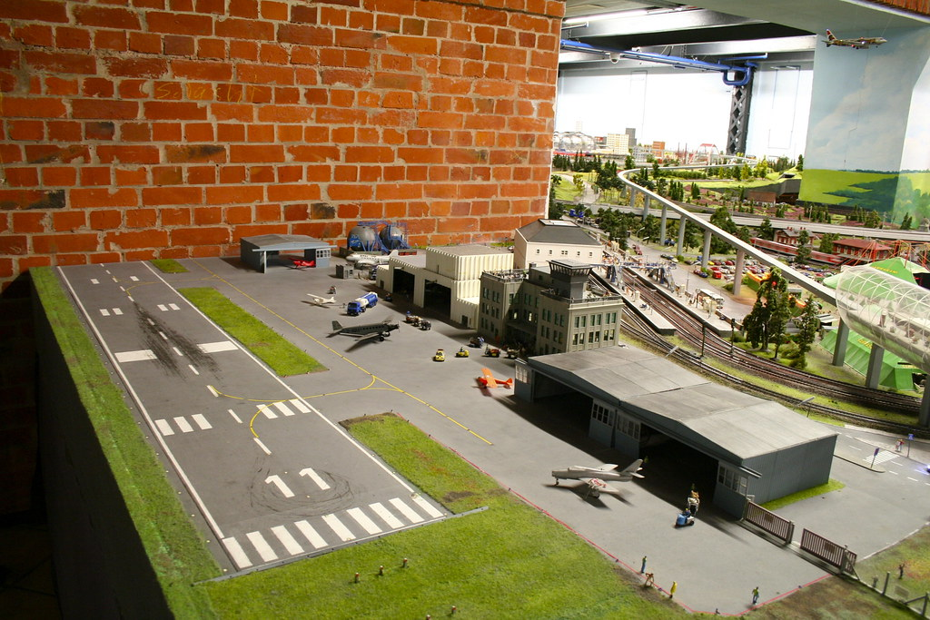 Miniature Airfield by Andrey Belenko, on Flickr