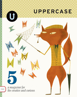 My Cover for Uppercase magazine's 5th issue