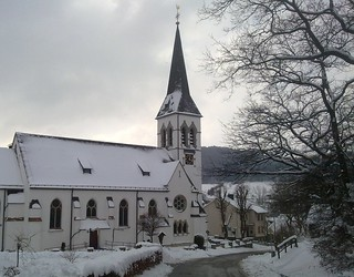 St Engelbert church in Medelon