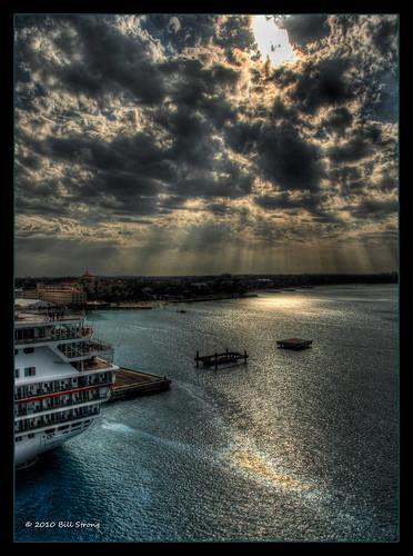 cruise clouds bahamas nassau hdr topaz adjust photomatix monarchoftheseas 3exp