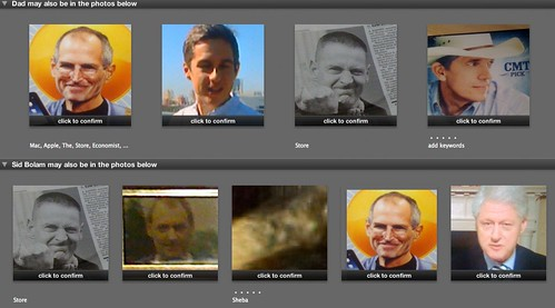 iPhoto - Wrong Faces!