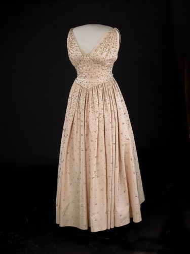 Mamie Eisenhower's Inaugural Gown, 1953