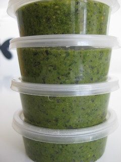 Freezing Basil Pesto | by MakeBreadAU