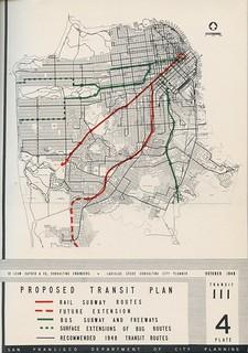 Proposed Transit Plan (1948)