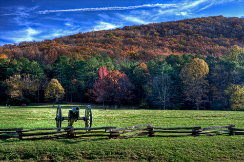 Fall Foliage at Kennesaw Mtn and Battlefield