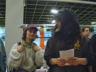 Billy the Bunny and Gorilla Guy