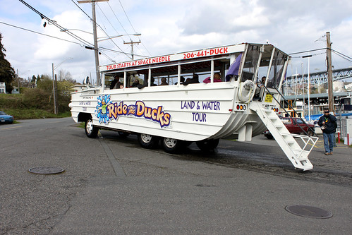 Rob Evans' photo of Seattle's most unique touring vehicle.