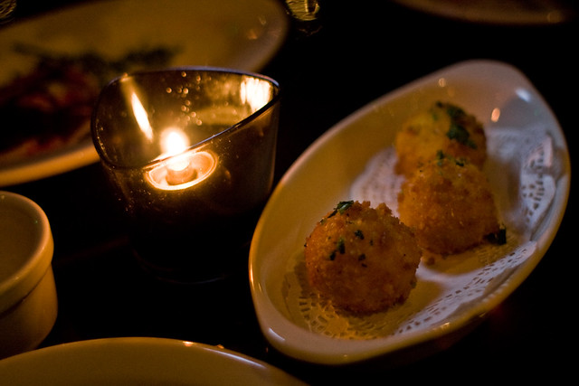 Saffron Arancini | Barbrix, Los Angeles. April Supper Club ...