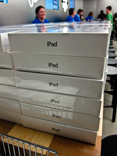 Lots of iPads Part Deux