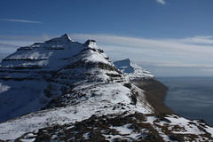 Views across the Faroese mountains