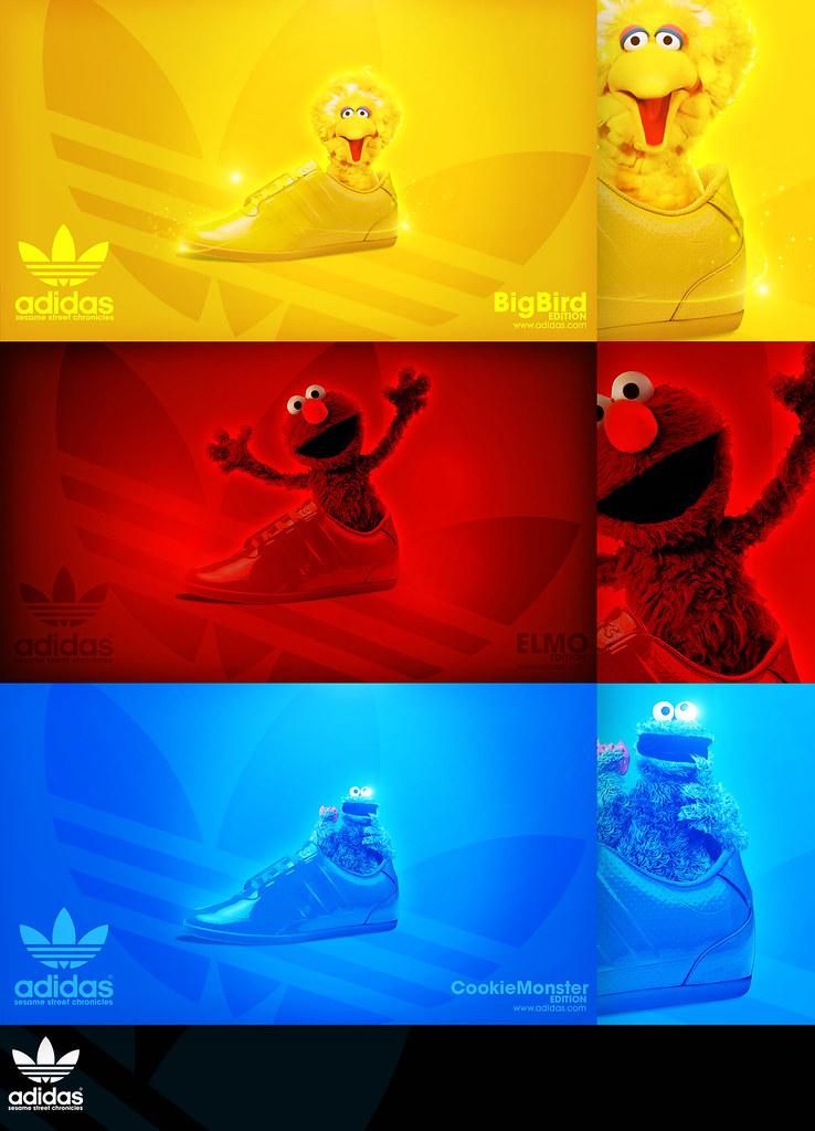Adidas - Sesame Street | Well i said to myself im not going