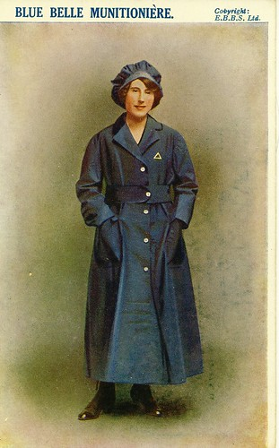 British Female Munitions Worker