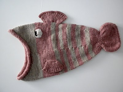 Knitting Pattern For Fish Hat : Knitted Fish Hat Flickr - Photo Sharing!