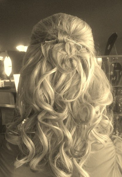 Hair Extension Updos 17