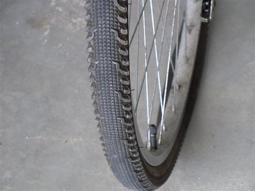 April 18, 2010 -  flat tire