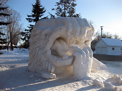 Ely Snow Sculptures
