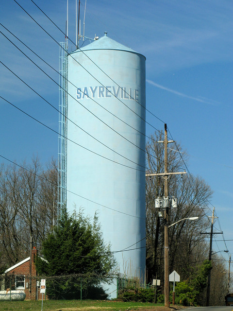 sayreville nj water tank