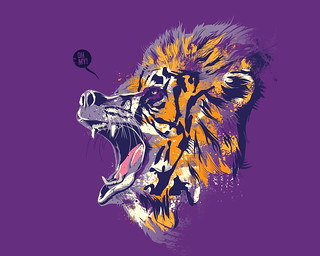 Lions & Tigers & Bears [t-shirt now available]