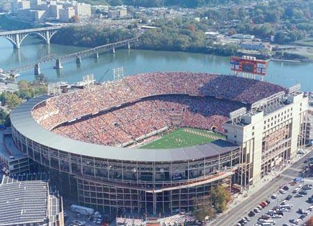 Neyland Stadium at University of Tennessee