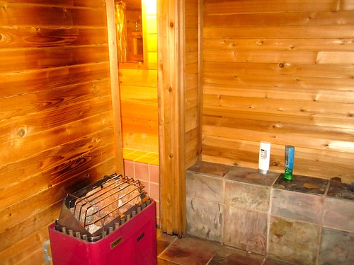 Raible designs the basement sauna project for Building a sauna in the basement
