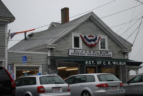 Little Compton, RI - Wilbur Store and Wilbor House by jeremywilbur via I {heart} Rhody