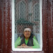 granny in the window