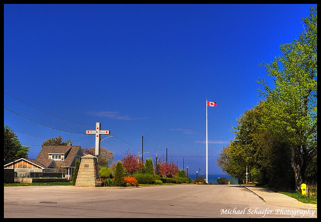Southampton (ON) Canada  city pictures gallery : Southampton Ontario, Canada Flagpole a photo on Flickriver