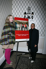 Andrea Pinkney, author of the companion book to the film published by Scholastic - New York premiere of TEN9EIGHT